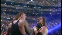 (9-0) Taker Streak The Undertaker vs Triple H (First Match) ~ WrestleMania X-Seven