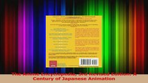 Read  The Anime Encyclopedia 3rd Revised Edition A Century of Japanese Animation Ebook Free