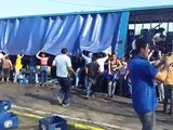Así fue como un camión de cerveza fue saqueado en Maracaibo