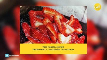 fragola-cetriolo insalata