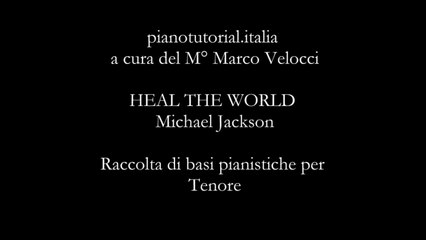 HEAL THE WORLD - Michael Jackson - Piano bases Collection