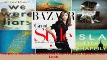 Read  Harpers Bazaar Great Style Best Ways to Update Your Look EBooks Online
