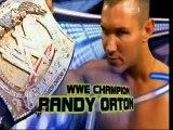 Triple H vs Randy Orton vs John Cena WWE Championship Wrestlemania XXIV