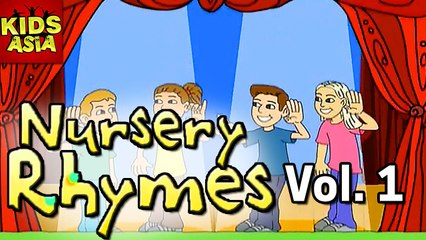 Nursery Rhymes | Vol 1 | Kids Animated In English | Kids Asia