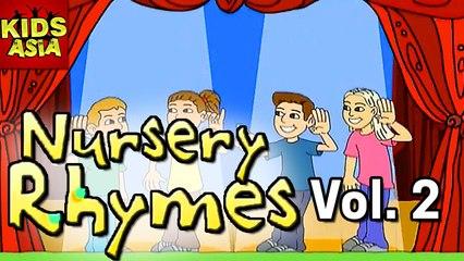 Nursery Rhymes | Vol 2 | Kids Animated In English | Kids Asia