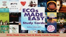 Read  ECGs Made Easy Text  Study Cards Package Ebook Free