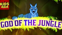 God Of The Jungle | Kids Animated Story in English | Tales Of Panchatantra | Kids Asia