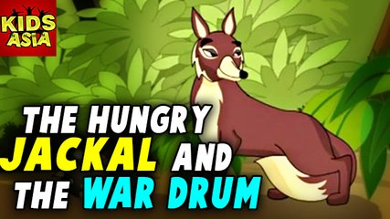 Tales Of Panchatantra | The Hungry Jackal And The War Drum | Kids Animated Story | Kids Asia