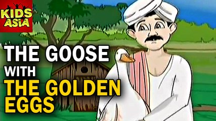 Tales Of Panchatantra | The Goose With The Golden Eggs | Kids Animated Story In English | Kids Asia