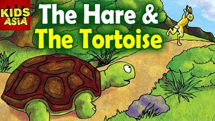 Tales Of Panchatantra | The Hare & The Tortoise | Kids Animated Story in English