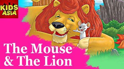 Tales Of Panchatantra | The Mouse & The Lion | Kids Animated Story | Kids Asia