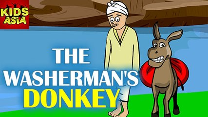 Tales Of Panchatantra | The Washer Man's Donkey | Kids Animated Story | Kids Asia