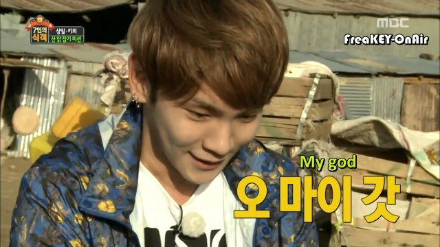 [ENG SUB]140627-140725 MBC 7 Hungry House Guests Key Cut