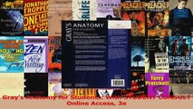 PDF Download  Grays Anatomy for Students With STUDENT CONSULT Online Access 3e Download Full Ebook