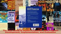 PDF Download  The New World of Health Promotion New Program Development Implementation and Evaluation PDF Full Ebook