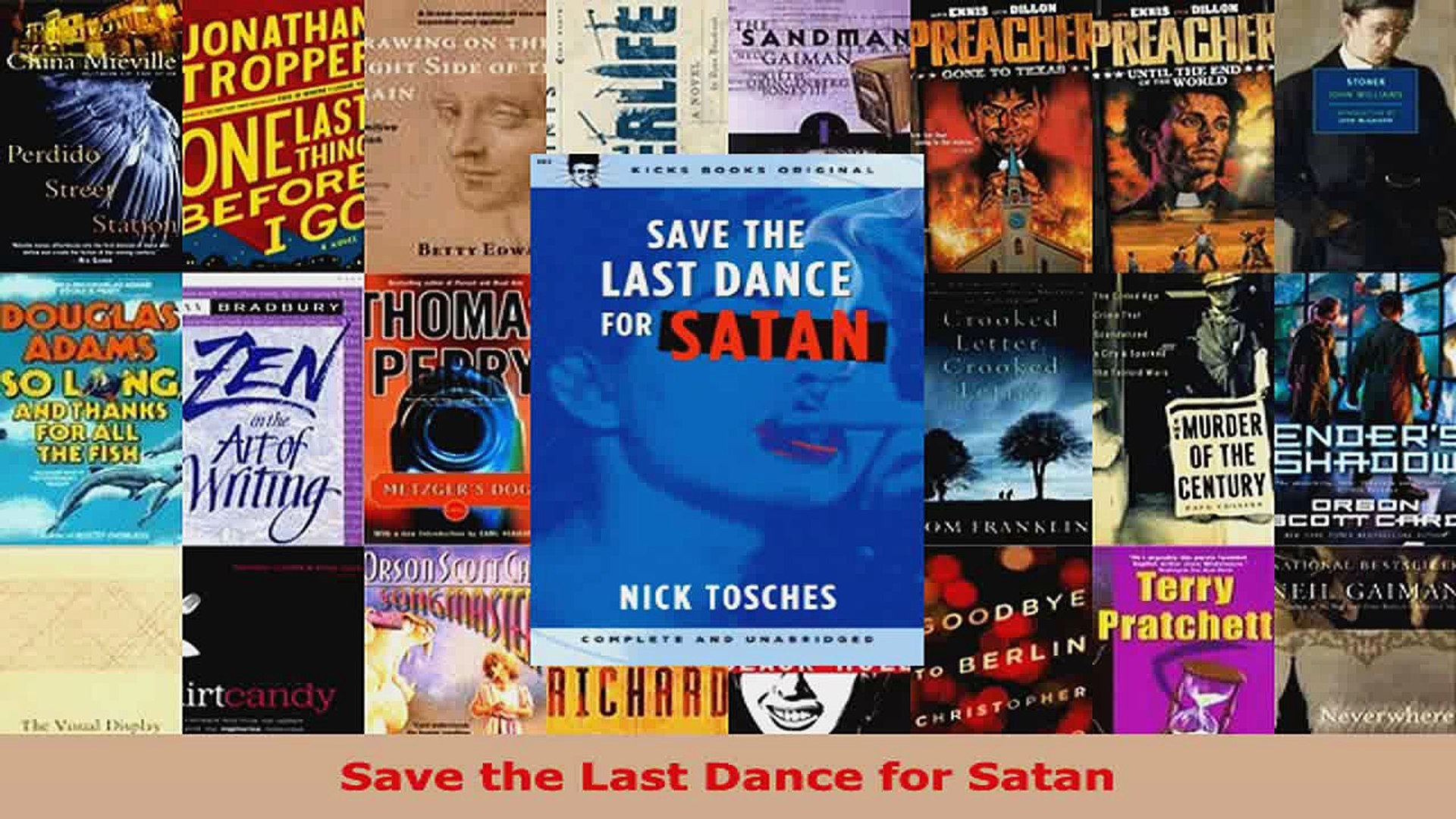 Download  Save the Last Dance for Satan PDF Free