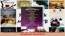 Download  Disney Movie Hits for Flute Play Along with a Full Symphony Orchestra PDF Free