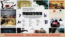 Download  Benny Goodman  Jazz Masters Series Clarinet EBooks Online