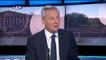 """Bruno Le Maire sur les élections régionales : """"Je refuse tout front républicain"""""""