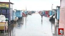 Chennai Marina Beach flooded in Rain