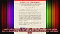 John Von Neumann The Scientific Genius Who Pioneered the Modern Computer Game Theory
