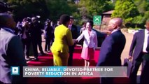 China, reliable, devoted partner for poverty reduction in Africa