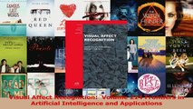 Read  Visual Affect Recognition  Volume 214 Frontiers in Artificial Intelligence and Ebook Free