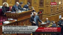 Projet de loi de finances pour 2016 - Crédits Écologie, développement et mobilité durables - Les matins du Sénat