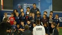 Pauleta at the Paris Saint-Germain Academy