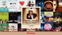 PDF Download  Theatre Society and the Nation Staging American Identities Cambridge Studies in American Download Online