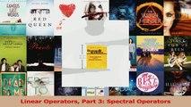 Read  Linear Operators Part 3 Spectral Operators PDF Online