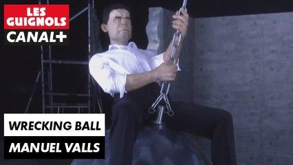 Wrecking Ball de Miley Cyrus selon Manuel Valls - Les Guignols - CANAL+