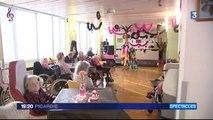 La Capelle (02): spectacle transformiste à la maison de retraite
