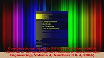 PDF Download  Computational Aspects Of Electric Polarizability Journal of Computational Methods in Read Full Ebook