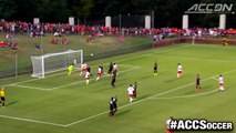 Top 5 Plays of the Week in ACC Soccer | October 28, 2015