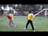 adil bin talat pakistan taekwondo champion jump back kick