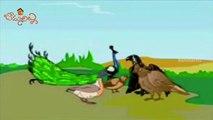 Telugu Moral Stories   Cartoon Stories For Kids   Birds Pride   Bommarillu