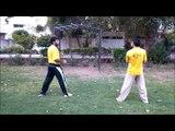 adil bin talat pakistan taekwondo champion jump back kick 2