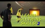 Learn Easy & Useful Football Match Skills -SkillTwins CRAZY Nutmeg⁄Panna Skill vs. Football Professional Player! ★Cristiano Ronaldo - The Gold Man - Skills,Passes and Goals  Iniesta Skill Tutorial