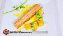 Le plat libre de Florian : omble chevalier du lac Léman, petits pois-carottes