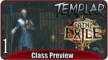 "PATH OF EXILE #1 | Templar Gameplay ""Besser als Drakensang & Diablo?"" | Fantasy Hack & Slay MMORPG"