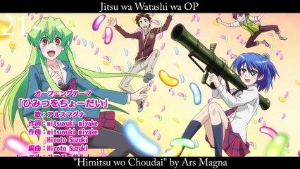 Top 30 Anime Openings SUMMER 2015