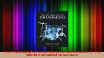 Read  The Psychology Of Drumming An Inside Look At The Worlds Greatest Drummers Ebook Online