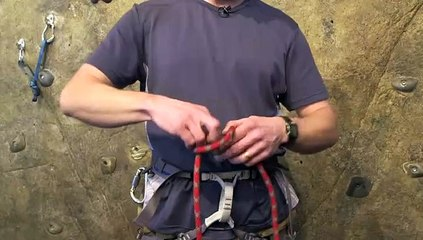 How to Anchor & Tie in When Rock Climbing