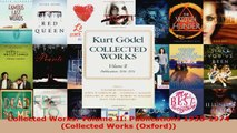 Read  Collected Works Volume II Publications 19381974 Collected Works Oxford PDF Online
