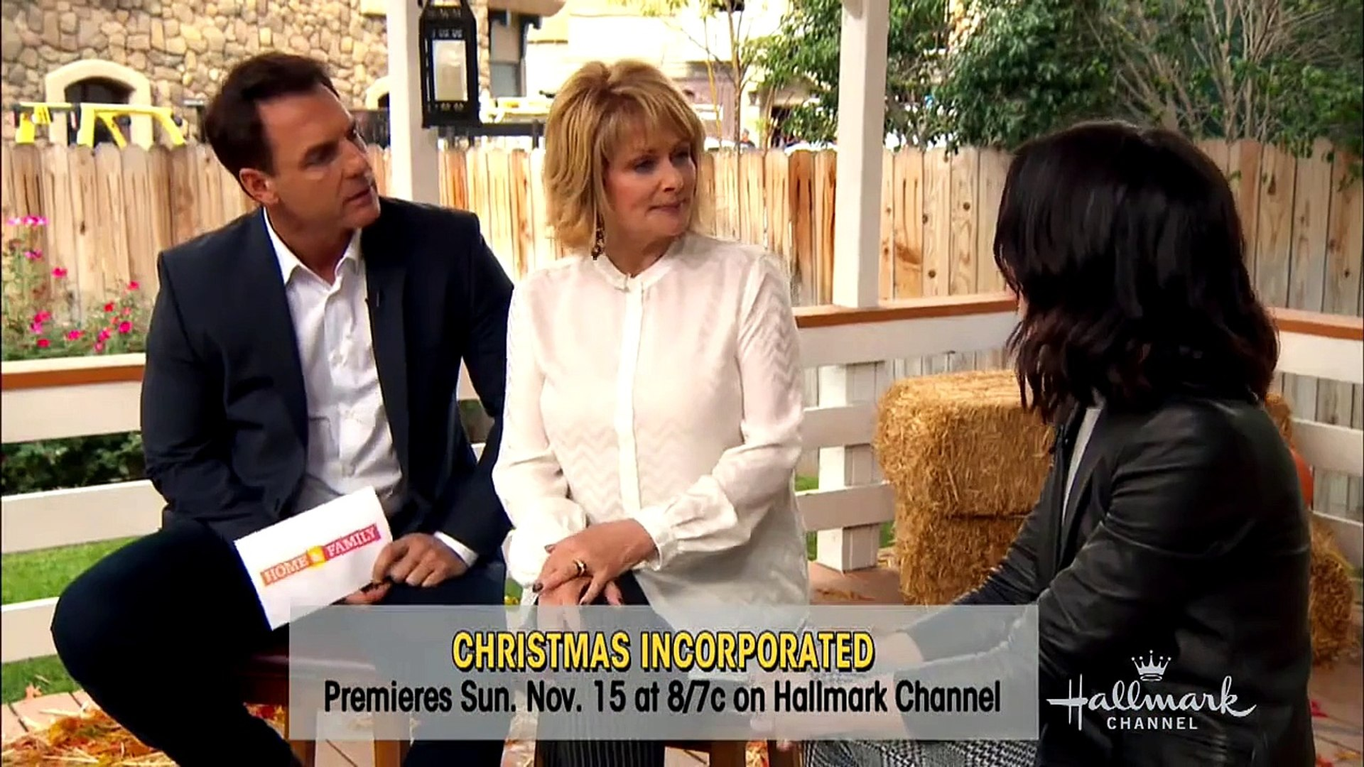 Christmas Incorporated.Hallmark Movies Once Upon A Holiday 2015 P1