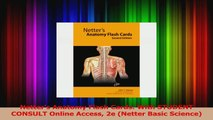 Netters Anatomy Flash Cards With STUDENT CONSULT Online Access 2e Netter Basic Science PDF