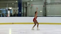 B. LAVOIE-LEONARD Novice Women Short (2016 Challenge)