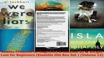 Read  Beauty Products for Beginners  Coconut Oil  Weight Loss for Beginners Essentia Oils Box Ebook Free