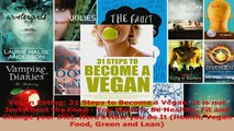 Read  Vegan Eating 31 Steps to Become a Vegan It is not Just About the Food  You Want to Be EBooks Online